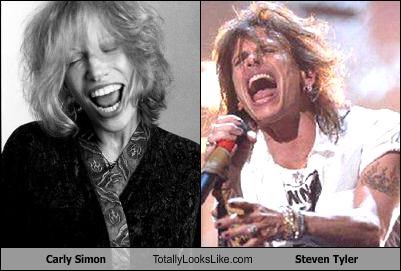Aerosmith Carly Simon steven tyler