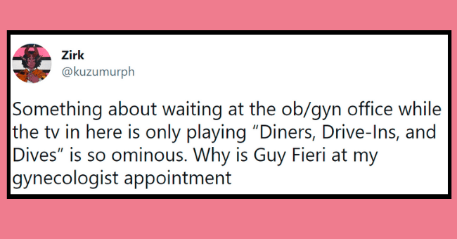"""gyno appointment tweets 