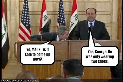 george w bush,Nuri al-Maliki,president,Republicans