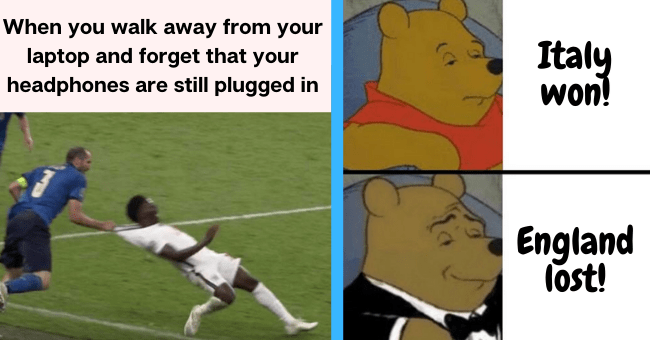 Snarkiest Memes In Response To England Losing Euro 2020 To Italy  thumbnail text -