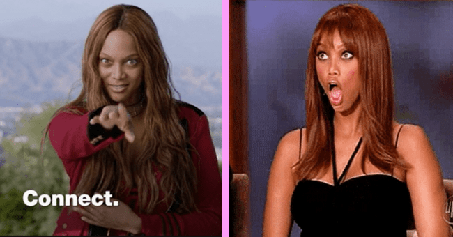 Tyra Banks Moments That Showcase How Insane Yet Iconic She Is| thubnail text - Tyra banks, connect, woman