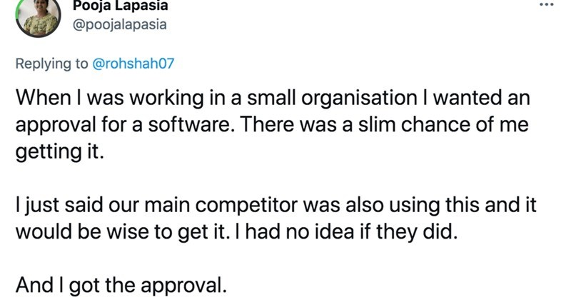 A Twitter thread about the most clever and effective scams that people pulled off at work.
