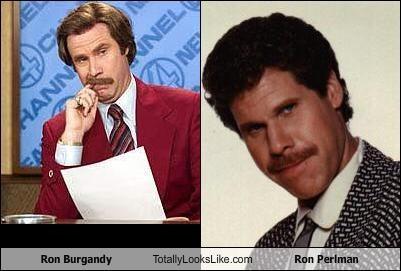 Ron Burgundy Ron Perlman Will Ferrell - 1475924224