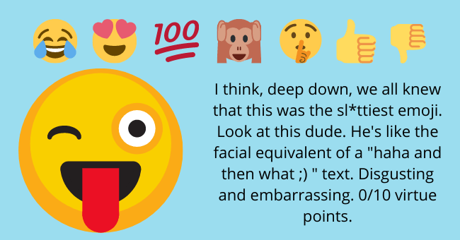 national emoji day rankings | thumbnail text -
