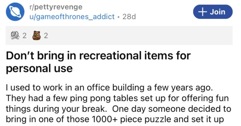 A collection of petty revenge stories from people that went full petty mode.