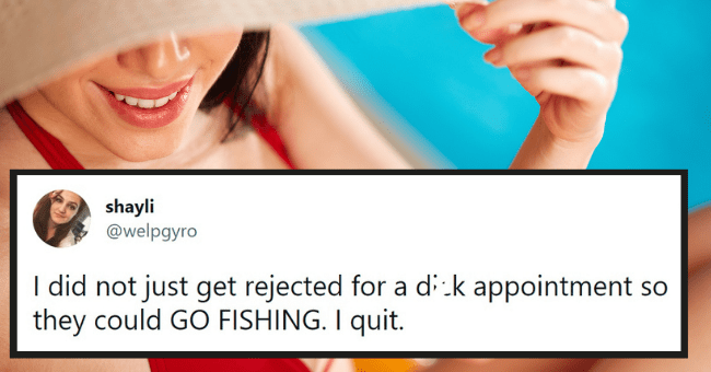 dick appointment tweets | thumbnail text - bellyb @corpsefucker421 ... gonna make an app where u can rate dude's dick down game like yelp. rate the dick appointment out of 5 stars, let others know if it was worth your time or not 2:55 PM · Jul 19, 2021 · Twitter for iPhone