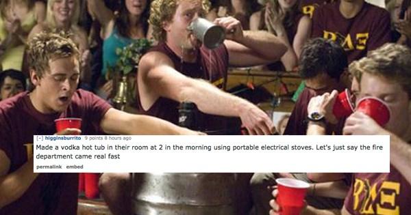 funny dorm stories
