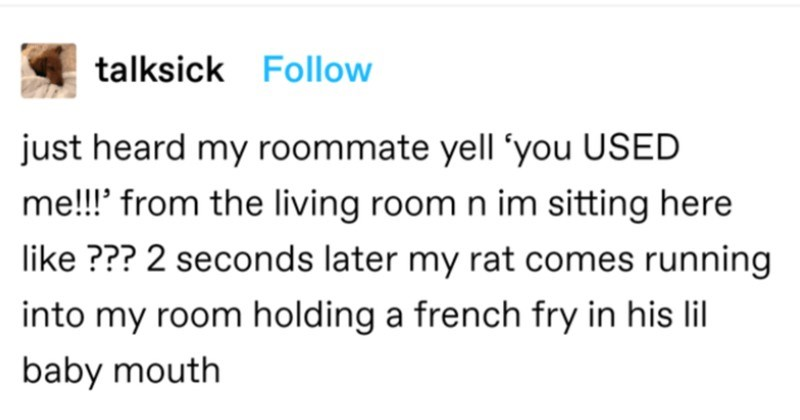 A collection of funny and totally random Tumblr gems to laugh at.