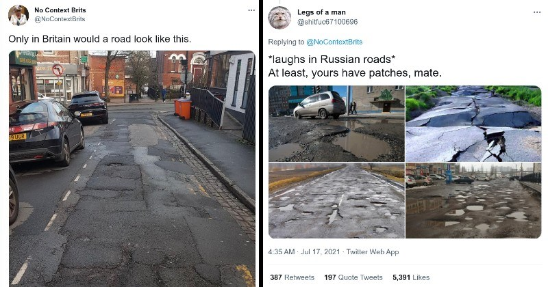 world sinkhole terrible twitter wtf ridiculous funny roads potholes - 14833925