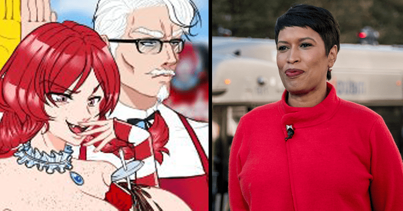 Funny tweets about Muriel Bowser tweeting lewd anime porn