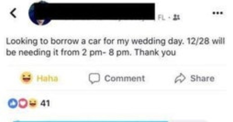 A choosing beggar ends up rudely rejecting a free car offer.