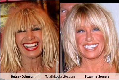 Betsey Johnson,Suzanne Somers