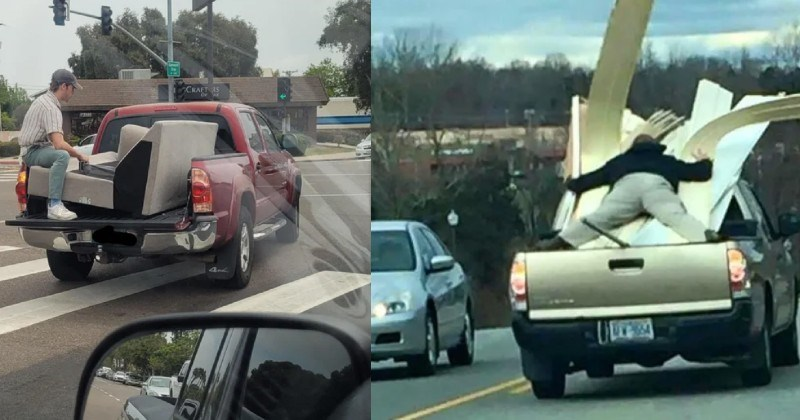 A collection of times that people were absolutely terrible drivers.