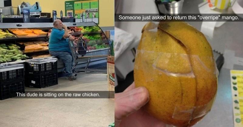 customer service FAIL retail customers cringe Awkward ridiculous - 14903557