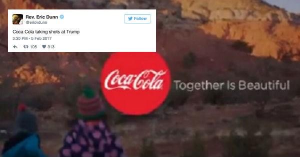 donald trump,controversy,coca cola
