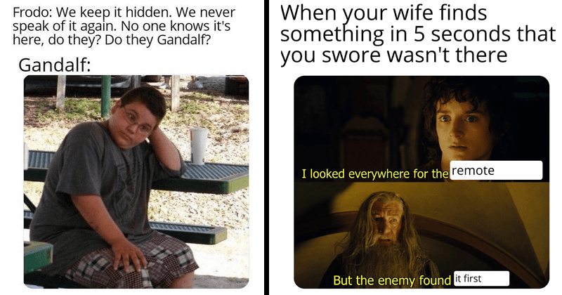 Tolkien Tuesday Lord of the Rings memes lol funny humor