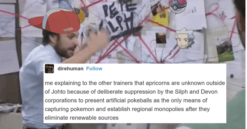 An entertaining Tumblr thread about the conspiracy behind the infamous Poké Balls.