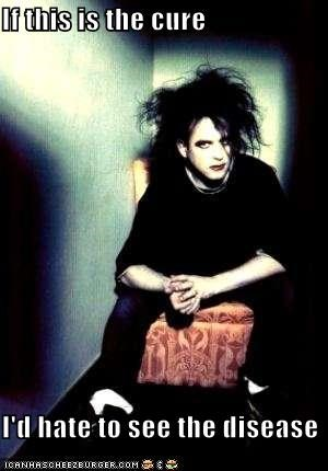 goth Music robert smith the cure ugly - 1498243840