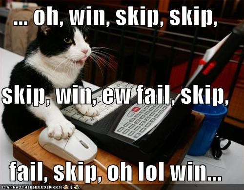 computer FAIL laptop lolcats voting win - 1499036928