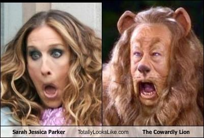 celeb,Cowardly Lion,cult films,sarah jessica parker,sex in the city,wizard of oz
