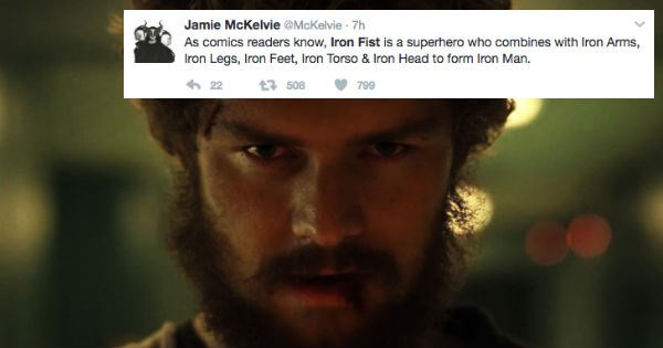 iron fist marvel reactions superheroes - 1511173