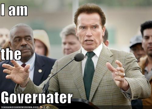 I am the  Governater