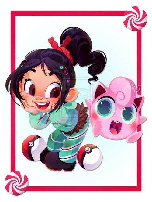 crossover Pokémon disney disney princesses - 152069