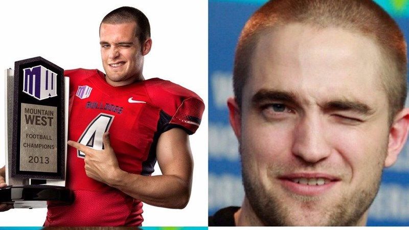 football players roasting celebs lookalikes