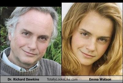 Dr. Richard Dawkins Totally Looks Like Emma Watson