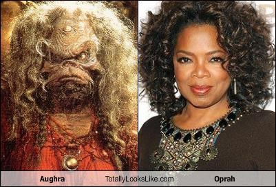 Aughra Totally Looks Like Oprah