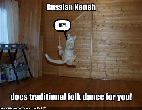 dancing jumping lolcats russian - 1535358208