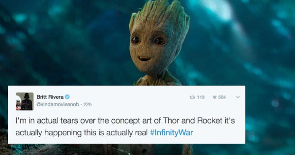 Imagini amuzante si haioase - Guardians of the Galaxy and Avengers Confirm Crossover In New Footage, People Everywhere Instantly Lose Their Minds