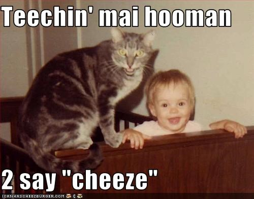 baby cheez hooman lolcats teaching - 1549397760