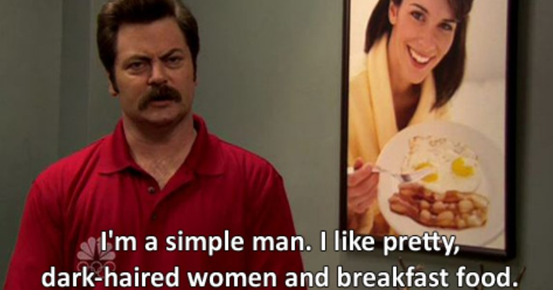 parks and recreation ron swanson parks and rec - 1551621