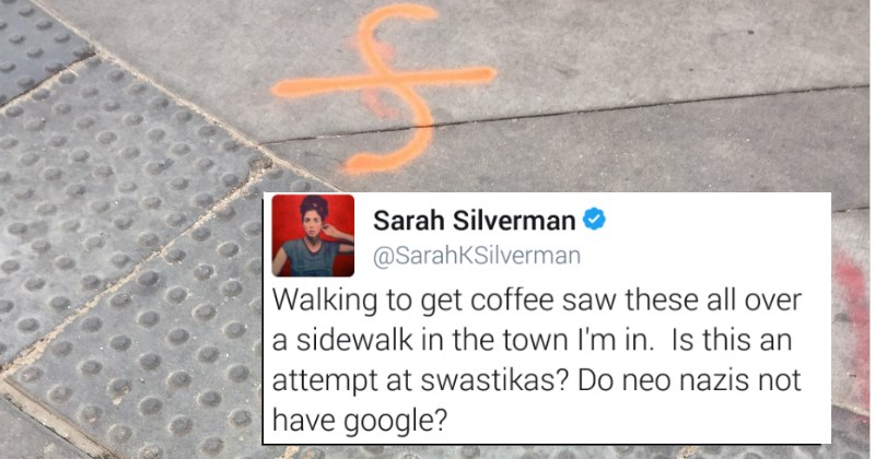 Sarah Silverman Catches Some Nazi's