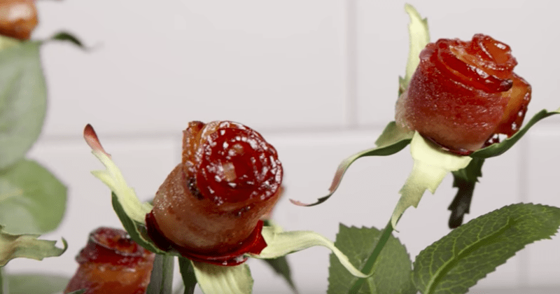 list How To DIY food roses bacon - 1553157