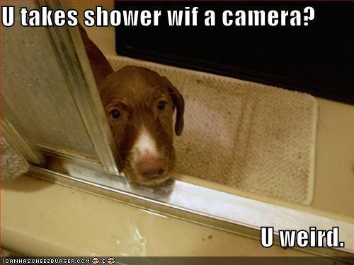 bath bathroom camera shower weird whatbreed - 1556018432