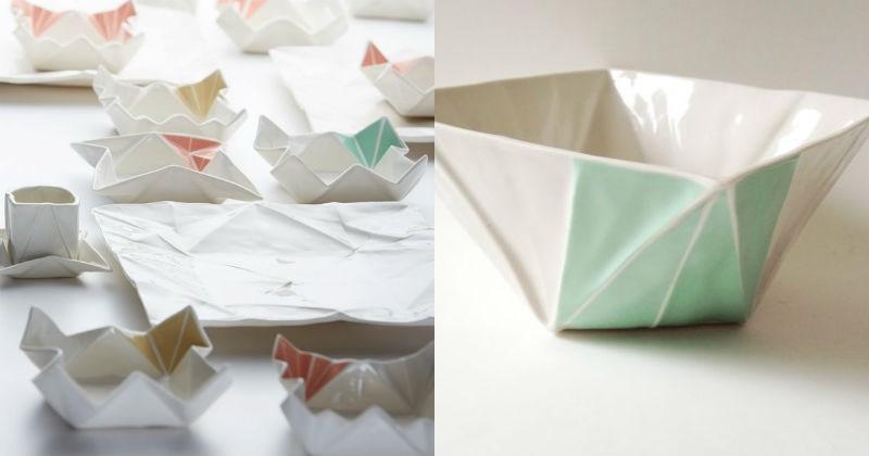 art origami crafts dishes animals - 1557765