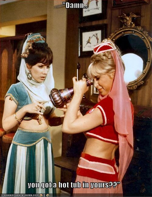 And i dream of jeannie hot