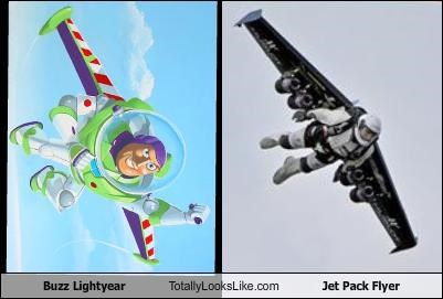 buzz lightyear cartoons Jet Pack Flyer pixar toy story