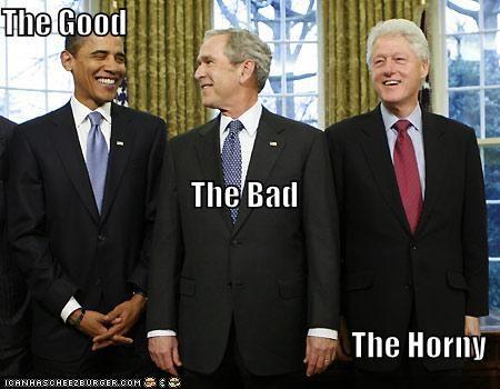 barack obama bill clinton democrats george w bush president Republicans - 1571913984