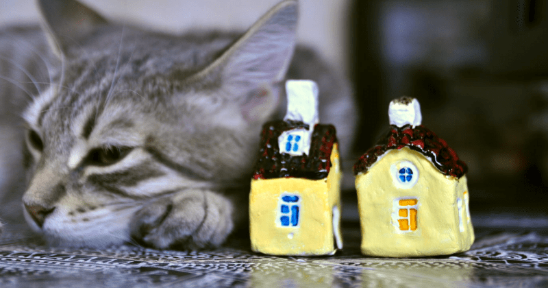 ceramic art list cute houses - 1574405