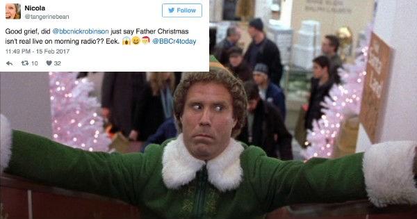 triggered angry bbc santa holidays