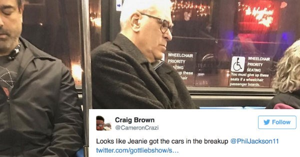Phil Jackson Photographed Looking Depressed AF Riding NYC Subway, Internet Strikes With Flood of Hilarious Reactions