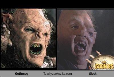 cult films General Gothmog goonies Lord of the Rings sloth - 1585244416