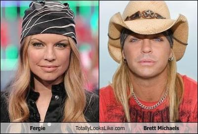 Fergie Totally Looks Like Brett Michaels