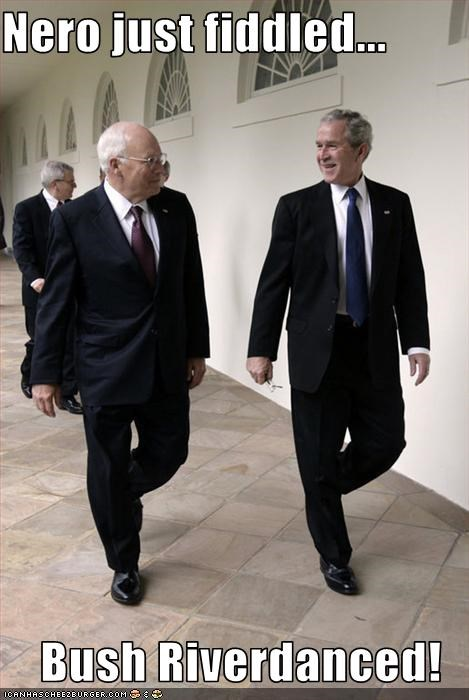 Dick Cheney george w bush president Republicans - 1587389696