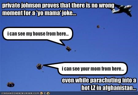 jokes military parachuting soldiers - 1588498688