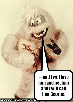 rudolph,The Abominable Snowman