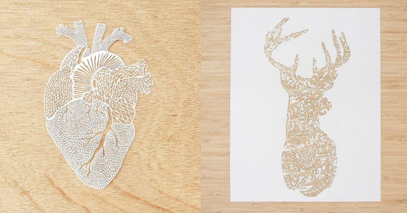 cut out art paper crafts laser cut beautiful organs - 1595397